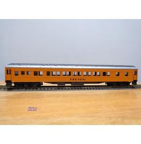 RIVAROSSI  6046, voiture Pullman  ( heavyweight Pullman ) train de travaux ( Work Train 6001 ) 6001   PRR  Neuf   BO