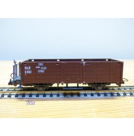 LILIPUT ancien 201 wagon plat chargé de 4 conteneurs ( cadres)  NS  BO