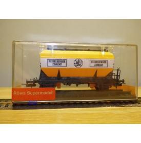 RÖWA 2058,  wagon trémie Heidelberger Zement  DB  neuf    BO