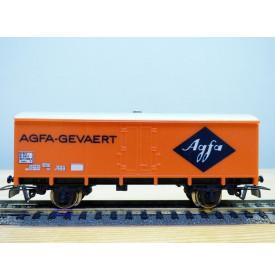 JOUEF 6267, wagon couvert à 2 essieux  type Uahs   AGFA  GEVAERT SNCF  BO