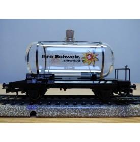 Märklin 44521  97701, wagon citerne en verre Ihre Schweiz  neuf   BO
