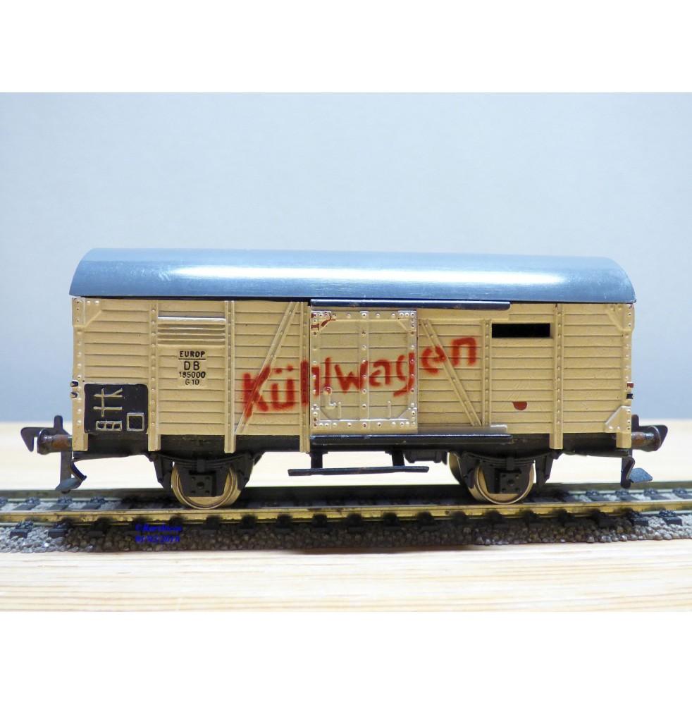 FLEISCHMANN  1462 - 2,  wagon réfrigérant type G 10  Kühlwagen  DB