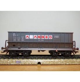 MÄRKLIN   48442,  wagon trémie à déchargement latéral  transport de minerai type Fal  A ARBED    CFL  Neuf   BO
