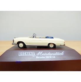 BREKINA  Meisterstück 2105, cabriolet Mercedes 280 SE 3.5    BO  1/87 ème HO