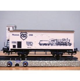 Märklin 88702   4680,  wagon couvert  à guérite  Museum  1988  neuf   BO