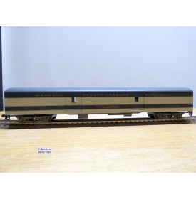 RIVAROSSI  6584, fourgon  ( smooth side baggage REA   ) Richmond Fredericksburg & Potomac   BO