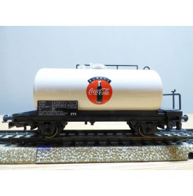 Märklin  95002 / 4440,  wagon citerne  COCA COLA     SJ  neuf   BO