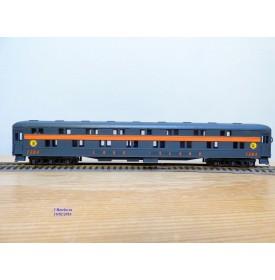 RIVAROSSI  6602,  voiture lits à 2 étages  ( heavyweight duplex roomette ) N°: 1304  Long Island  Railroad   BO