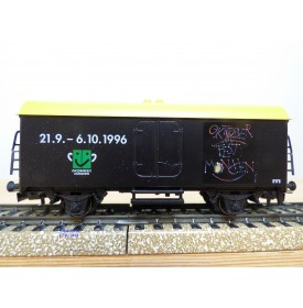 Märklin  96720 / 4415.040,  wagon couvert réfrigérant  Ichqrs 377  OKTOBERFEST München  Franz Carl Weber   DB  Neuf   BO