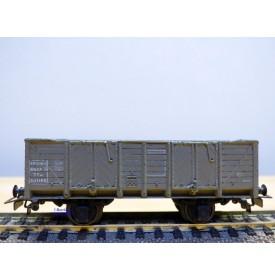 VB  632, wagon tombereau façon bois   gris type TTw   SNCF