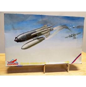 CONDOR  C48003,  german missiles set N°1   neuf  BO  1/48