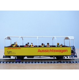 D+R Modellbahn 20099, wagon panoramique  B 2099    Rhb   BO