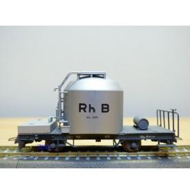 BEMO HOm  2252 105,  wagon silo  à ciment type Uce Mohrenköpf   N°: 8075   RhB  BO