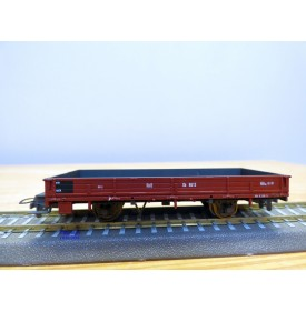 BEMO 2268 193, wagon plat  de service ( Dienstwagen ) type Xk  N° 8613  RhB  neuf  BO