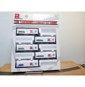 RIVAROSSI véro 5670,  coffret de 5 wagons  réfrigérant  cinquantenanire de Rivarossi     neuf   BO