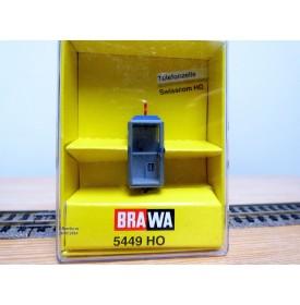 BRAWA  5449, cabine téléphonique Swisscom  éclairée  neuf   BO
