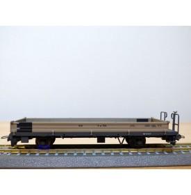 BEMO 2267 102, wagon plat long type K-w  N° 7502  RhB  neuf  BO