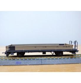 BEMO 2267 108, wagon plat long type K-w  N° 7508  RhB  neuf  BO