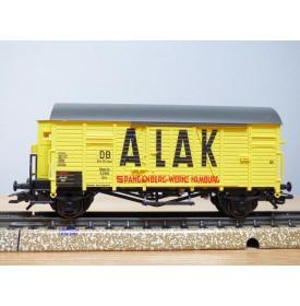 Märklin  48160  wagon couvert à guérite  type Oppeln  ALAK Spangenberg  Werke   DB Brit-US- Zone  Neuf   BO