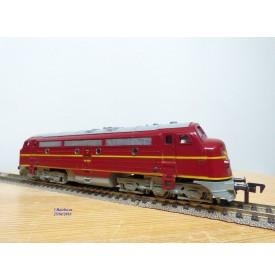 Fleischmann 1385D-1a, loco diesel A1A A1A   Nohab  série My11   DSB   neuf   BO