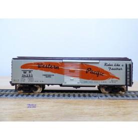 FLEISCHMANN 1429,  wagon couvert  ( boxcar )  Western Pacific  neuf   BO