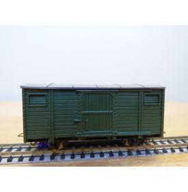 EGGER BAHN 2111, wagon couvert  vert   neuf  BO