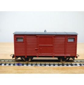 EGGER BAHN 2303 / JOUEF PV 28, wagon couvert  marron   neuf    BO