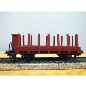 HAG  315.01, wagon plat  à ranchers à guérite  type M6 SBB  BO