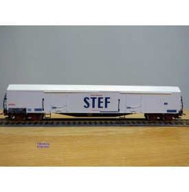 JOUEF 6760, wagon couvert réfrigérant  à 2 bogies  type Laehss  STEF    SNCF  neuf    BO