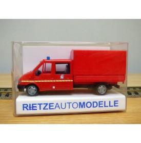 Rietze 51129, camionnette de pompiers FORD Transit      Neuf   BO