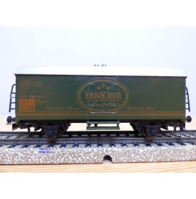 Märklin  96001 / 44563.002,  wagon couvert réfrigérant  Ichqrs 377 DB  ERBACHER  Neuf   BO