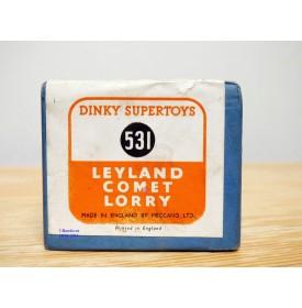 Dinky  SuperToys vrai 531, boîte seule  ( box only ) de camion Leyland Comet
