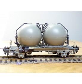 TRIX Express International  / Röwa  3664, rare wagon silos  NS   neuf  BO