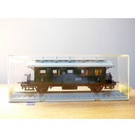TRIX Express International  / Röwa 3729, voiture ancienne type  Cl Pr 05a  3 Kl.  KPEV   neuf   BO