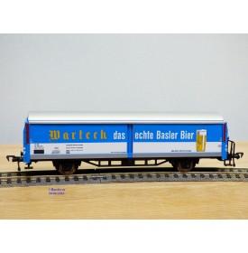 FLEISCHMANN  5337,  wagon spécial pour bière WARTECK   SBB   neuf    BO