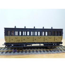 ELEC TRAINS  4P2 , voiture ancienne 2 ème classe  type B 5   N°: 1370  PLM