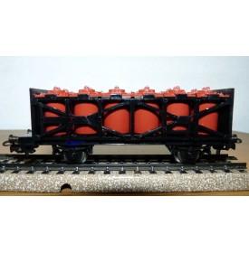 PRIMEX ( Märklin )  4587 wagon porte citernes pour acide  DB BO