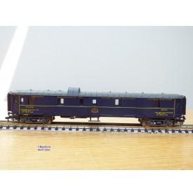 RIVAROSSI 9552,  fourgon à bagages   N°: 1270  CIWL SNCF    BO