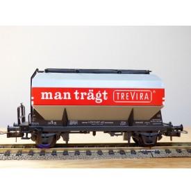 RÖWA 2051,  wagon trémie  TREVIRA  HOECHST    DB   neuf    BO