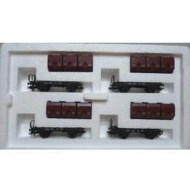 Märklin  48270 coffret 4 wagons transport de charbon Okmm 38 DB BO