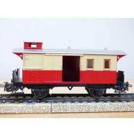 MÄRKLIN   4108,   fourgon à bagages mixte  à plate forme d'extrémité et guérite   à 2 essieux  Chemins de fer privés  neuf  BO