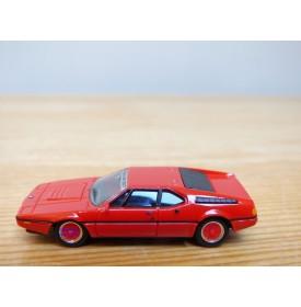 HERPA  ????,  BMW M1  rouge IAA  2007  Neuf   BO  1/87   HO