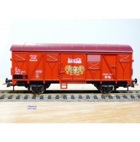 KROKODIL 0303, wagon couvert à bière   Hörak  CSD   neuf   BO
