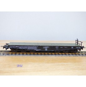 LILIPUT 212 00, wagon plat à ranchers pour charges lourdes type Sa 705   DB  BO