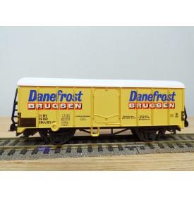 LILIPUT 221 63 , wagon couvert réfrigérant    DANEFROST   DSB    BO