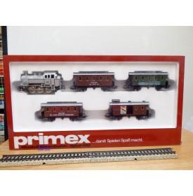PRIMEX ( Märklin )  2750, coffret Jubiläumszug : loco 030T Br 80  et 4 wagons  DB  Neuf   BO