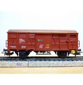 ELECTROTREN  1370,  wagon couvert  type Grs    RENFE     BO
