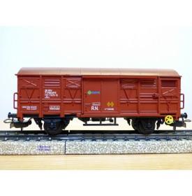 ELECTROTREN  1370,  wagon couvert  type Grs    RENFE     BO