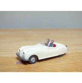 WIKING  20 , Jaguar Sport blanche   1/87   HO