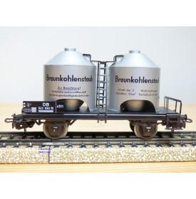 PRIMEX ( Märklin )  4551, wagon silos pour poussière de lignite  lignite  DB   neuf  BO